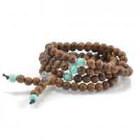 Sandalwood Meditation Bracelet / Necklace