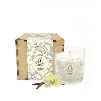 Meditation Candle in Box - Vanilla