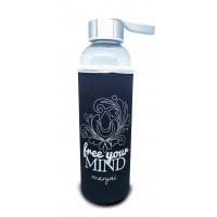 Man-jai Water Bottle with cooler sleeve