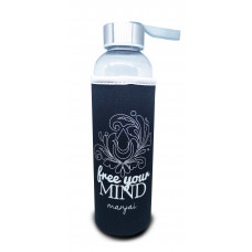 Man-jai Water Bottle with cooler sleeve